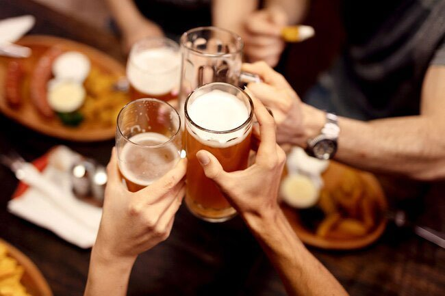 While not a food, alcohol is something you put into your body that experts link to eye disease.