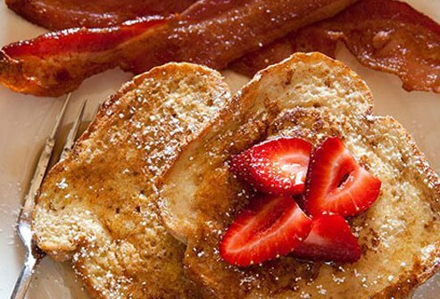 Want to use up a good chunk of your day's calories before noon? Eat this for breakfast.