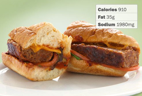 Photo of Boston Market's Homestyle Meatloaf Carver Sandwich.