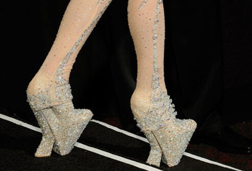 Photo of costume shoes.
