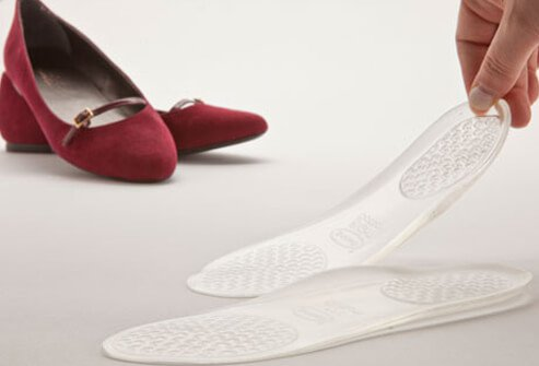 Photo of orthotic inserts for shoes.