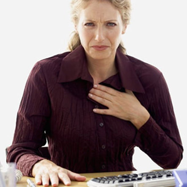 Gastroesophageal reflux disease or GERD describes chronic heartburn that can damage the lining of the esophagus and cause other problems.