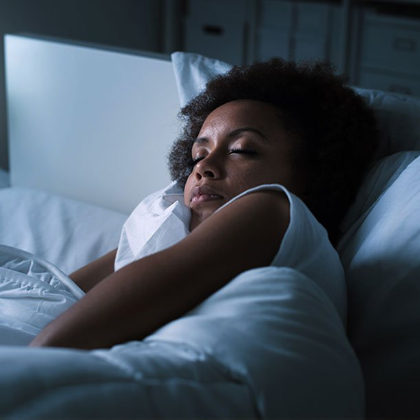 Sleepwalking may include sitting up, walking around, and doing complex activities while appearing awake. It typically happens while in a deep sleep.