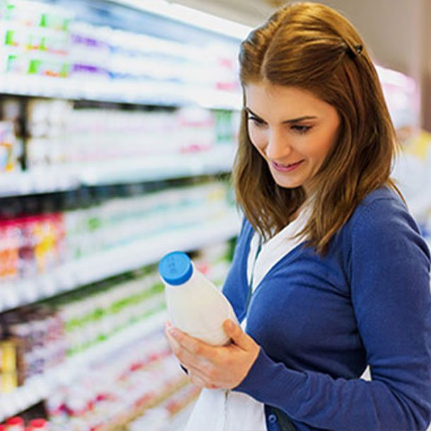 Treatment for lactose intolerance can include avoiding foods high in lactose, such as milk products, buttermilk, ice cream, yogurt, and cottage cheese.