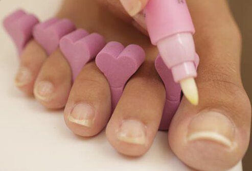 Cuticles keep out germs, so treat them well!