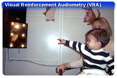 Visual Reinforcement Audiometry Photo - Hearing Loss in Children