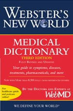 Webster's New World Medical Dictionary 3rd Edition cover